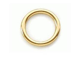 Ronde ringen messing