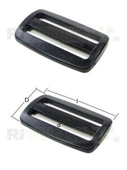 Gesp dubbel voor 15 mm band