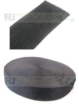 Band - 50 mm - zwart - zware kwaliteit