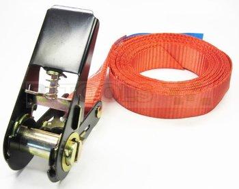Eindloze spanband - 800 kg - 4 meter - rood