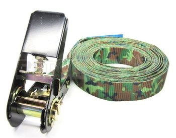 Eindloze spanband - 800 kg - 4 meter - camouflage