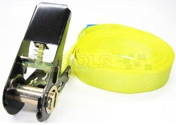 Eindloze spanband - 800 kg - 6 meter - geel