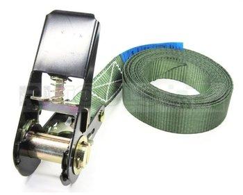 Eindloze spanband - 800 kg - 4 meter - olijfgroen