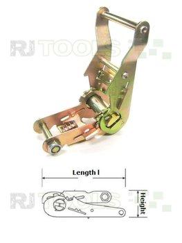 Spanratel brede handgreep - 36 mm - zware kwaliteit