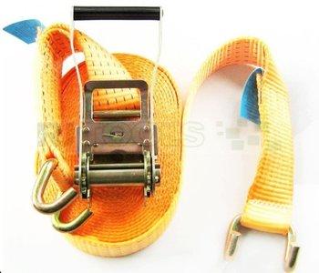 Complete spanband 5000 kg - 9 meter - Klauwhaken