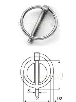 Borgpen 8 mm