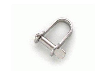 H-sluiting 6 mm rvs