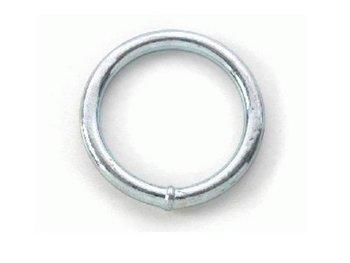 Ronde ring verzinkt 40 x 09.
