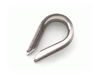 Kausche - Rillenweite 14 mm - Edelstahl rostfrei