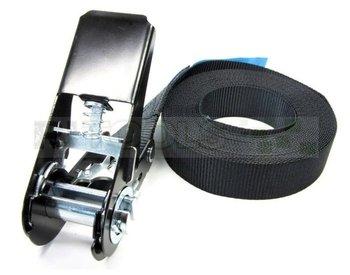Eindloze spanband - 800 kg - 4 meter - zwart