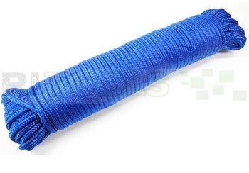 Touw - 4 mm - polypropeen - blauw