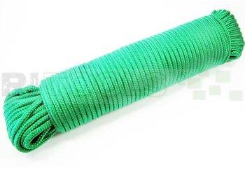 Touw - 4 mm - polypropeen - groen