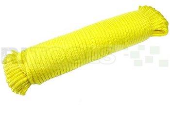 Touw - 4 mm - polypropeen - geel