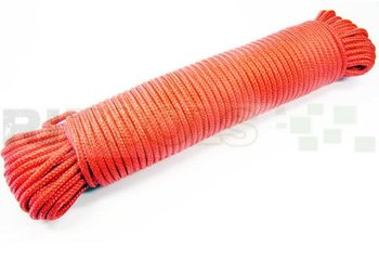 Touw - 6 mm - polypropeen - rood