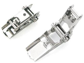 Spanratel smalle handgreep - 25 mm - RVS