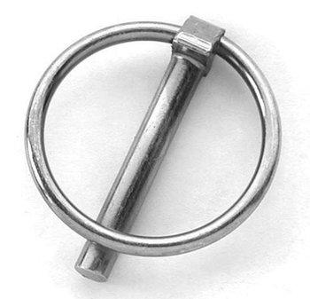Lynch pin - 4 mm - galvanised