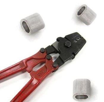 Klemkous tang voor  2 - 5 mm klemkousen