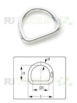 D-Ring 25 mm verzinkt