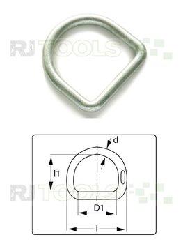 D-Ring 45 mm verzinkt